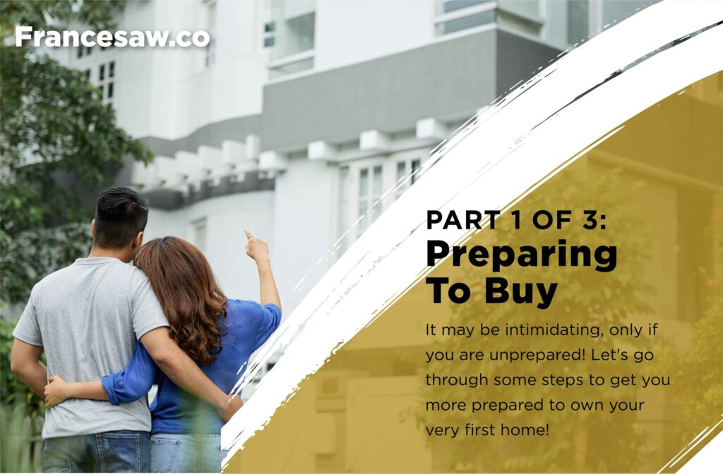 Preparing to buy your first home.