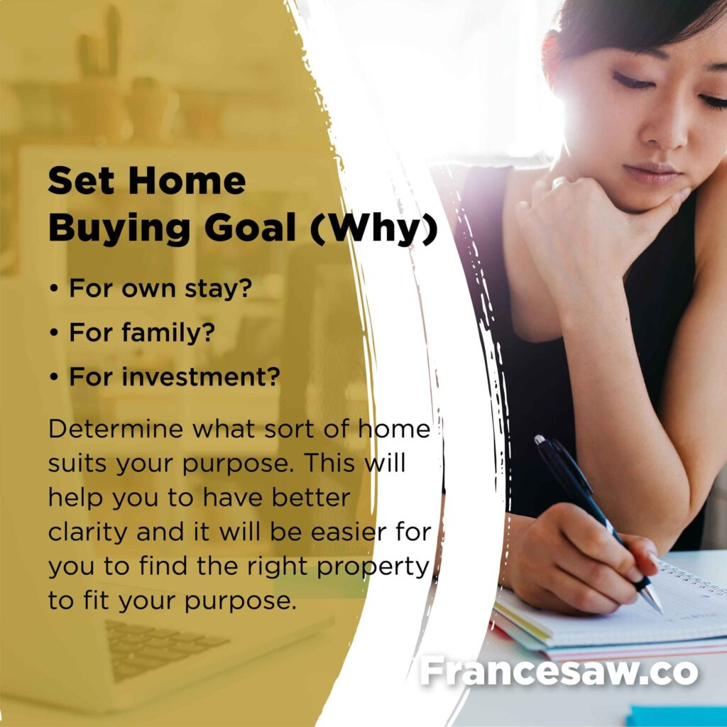 Preparing to buy your first home. Set Home Buying Goal.